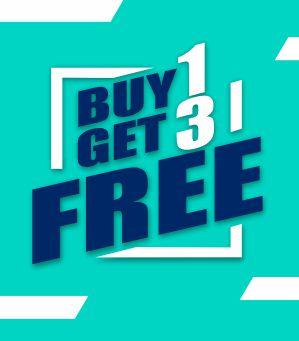 Buy 1 Get 3